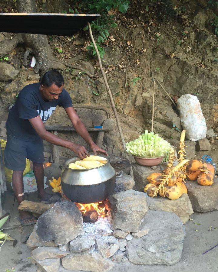Roadside Street Vendors Sri Lanka