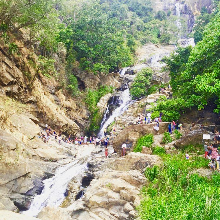 Ravena Ella Falls Sri Lanka