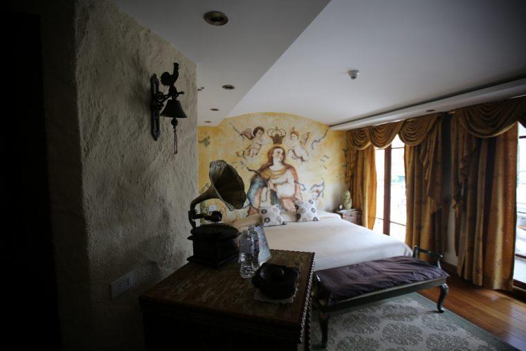 Quito Ecuador Anahi Hotel Room