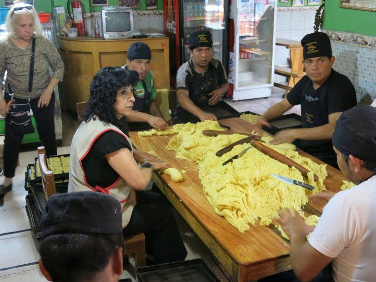 Quito Ecuador Bizcochos Making