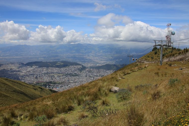 Quito Ecuador Cable Car