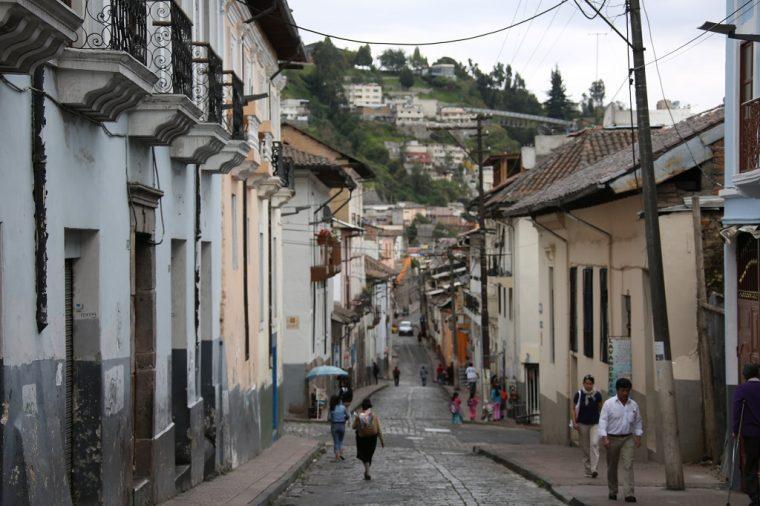 Quito Ecuador Hills