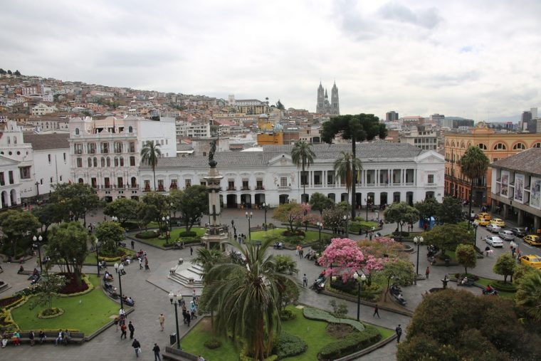 Quito Ecuador Independence Square
