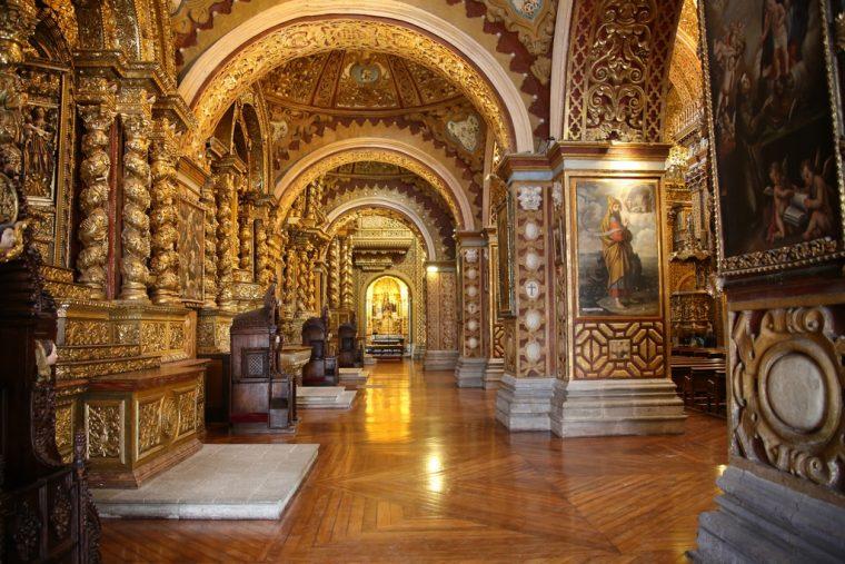Quito Ecuador La Compania de Jesus
