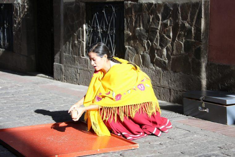 Quito Ecuador Morales Street