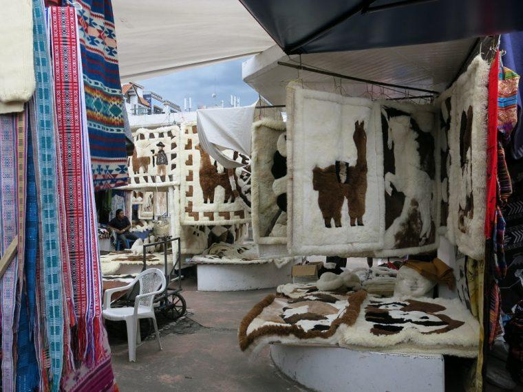 Quito Ecuador Otavalo Craft Market