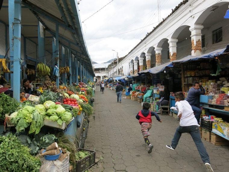 Quito Ecuador Otavalo Market
