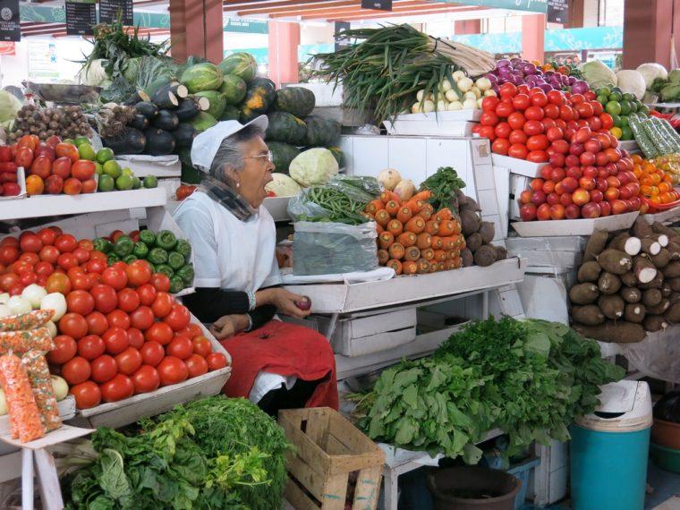 Quito Ecuador San Francisco Market