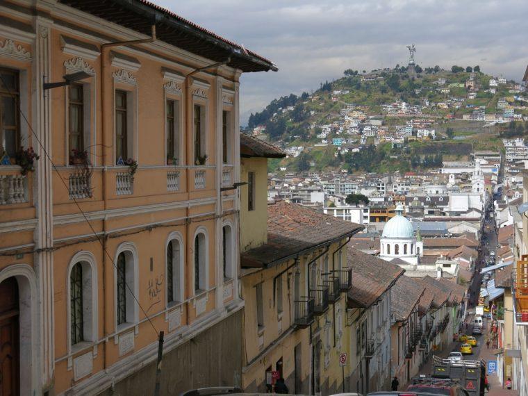Quito Ecuador Town roads