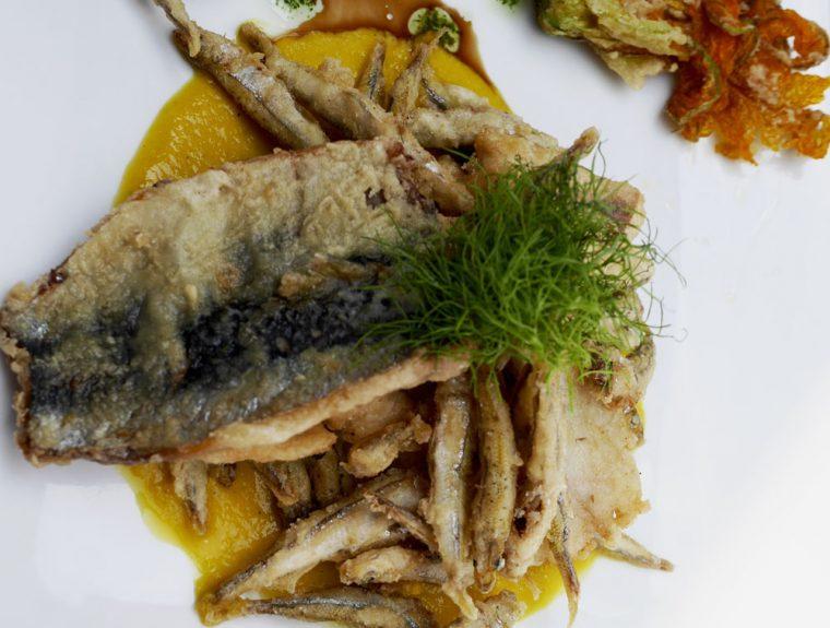 Torbole Aqua - Lake fish tempura