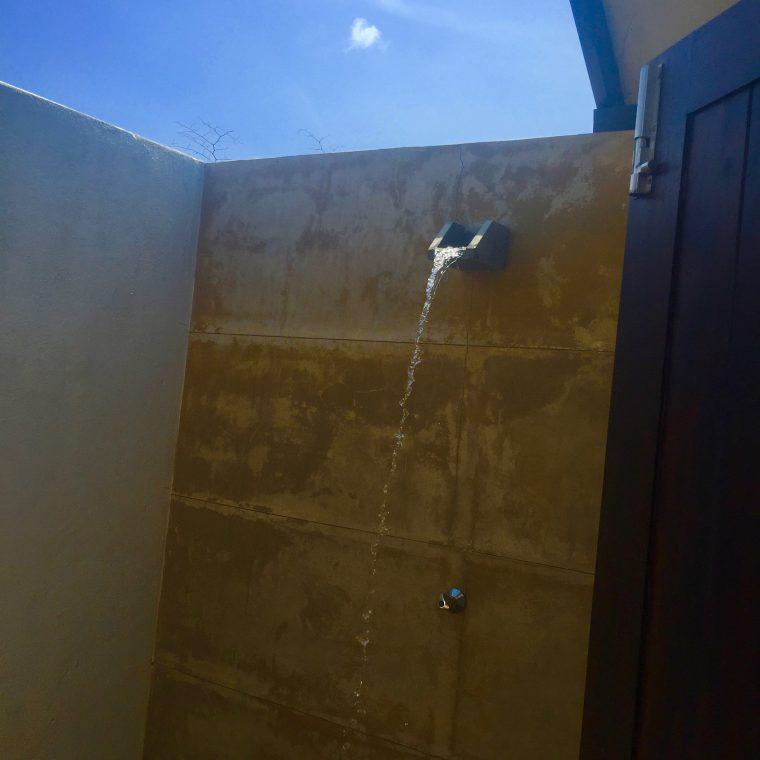 tent shower in Sri Lanka