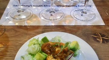 Sainsbury's South African Wine Pairing Evening