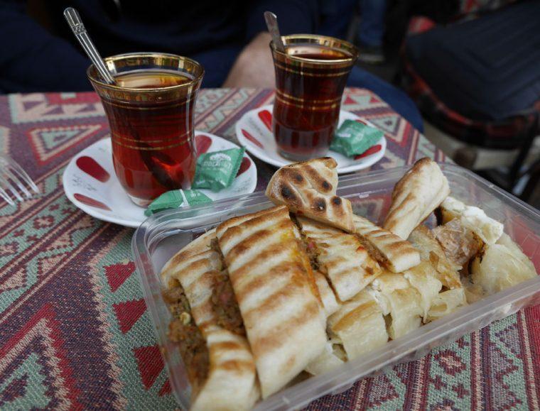 tea-pide-and-borek-in-istanbul