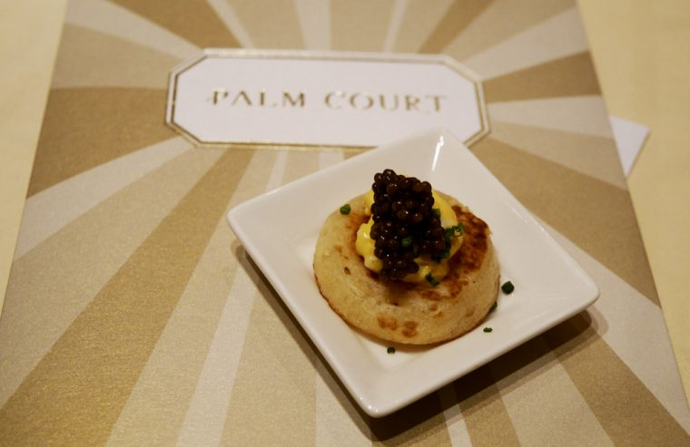 blinis-with-scrambled-egg-and-caviar-the-langham