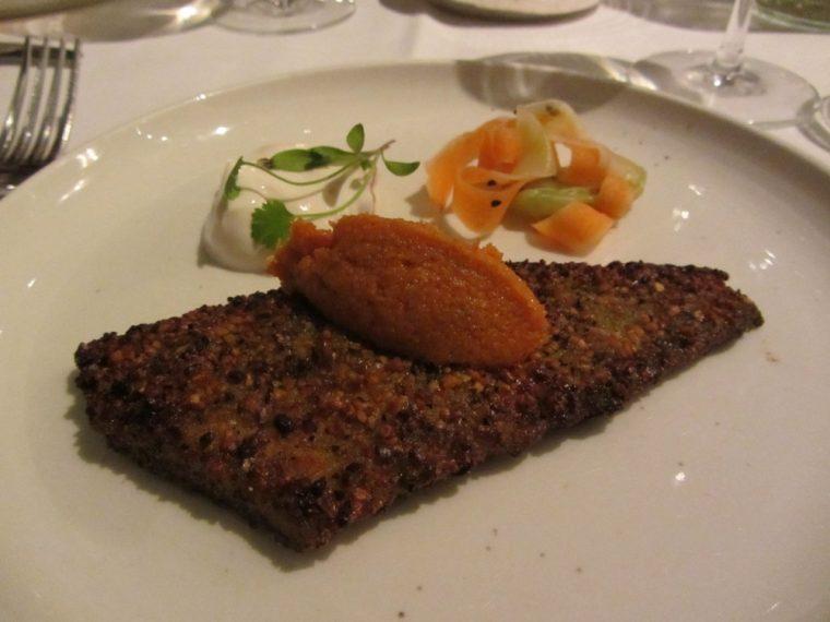 cinnamon-club-plaice-fillet-with-lentil-crust