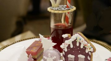 A Festive Afternoon Tea at the Langham
