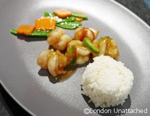 Stir Fried Prawns with Cucumber