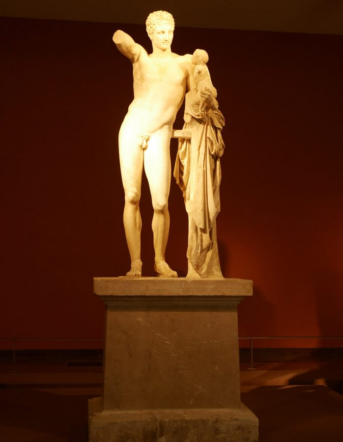 statue-museum-olympia