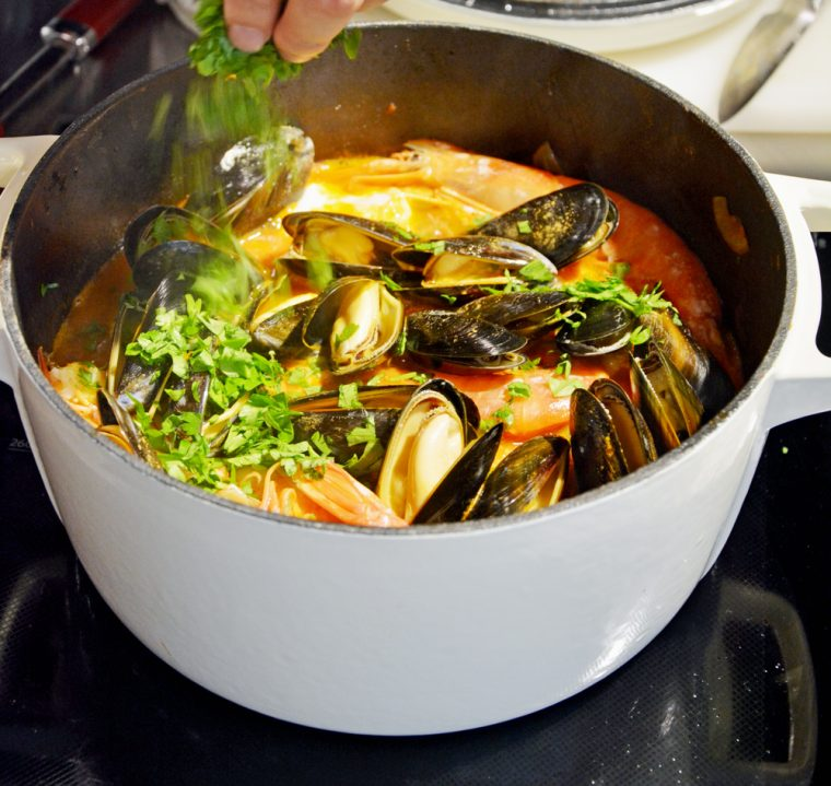 Bouillabaisse Ready to serve