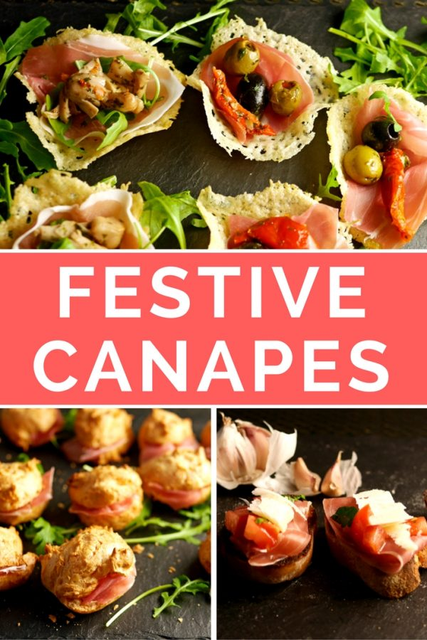 Festive Canapes