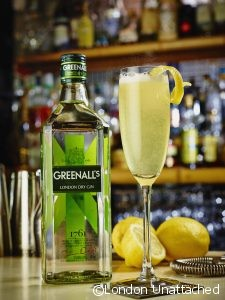 French 75 with Greenall's