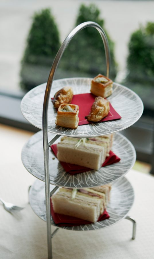 Intercontinental Sandwiches Savories Afternoon Tea
