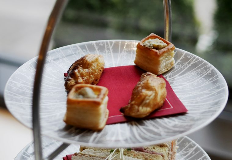 Intercontinental afternoon tea savouries
