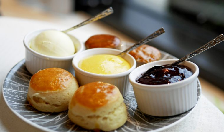 Intercontinental scones afternoon tea