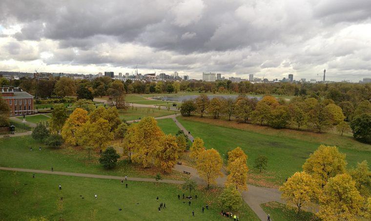 Min Jiang - View over Kensington Gardens