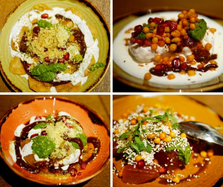 Chaat at Cinnamon Bazaar