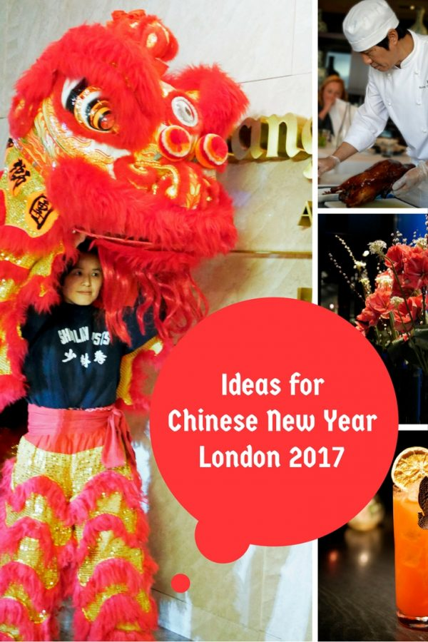 Ideas for Chinese New Year, London 2017