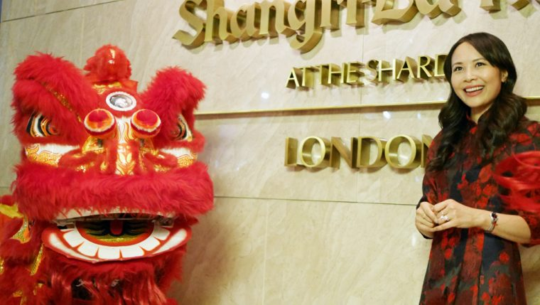 Ching He Huang at Shangri La at the Shard