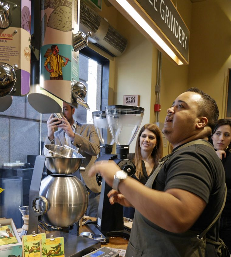 Coffee Grindery Coffee Island