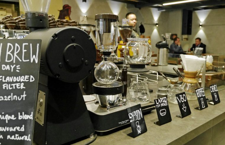Coffee Island Upper St Martins Lane Arttisan Coffee