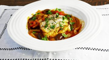 Cod with Fennel and Tomatoes – 5:2 Diet Recipe