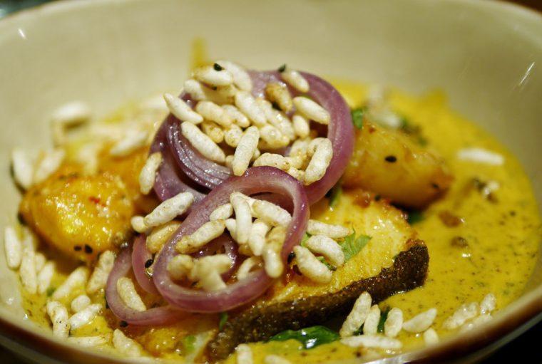 Fish at Cinnamon Bazaar
