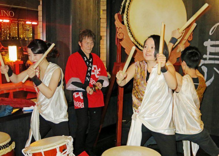Japanese Drummers Sakagura