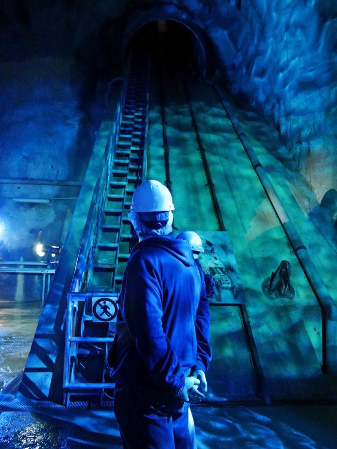 Riva del Garda Hydroelectric plant Interior