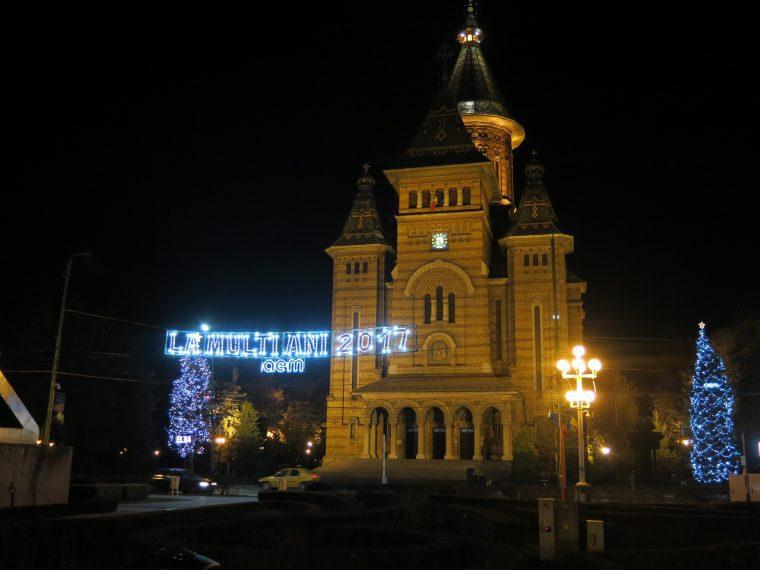 Romania Timisoara New Year