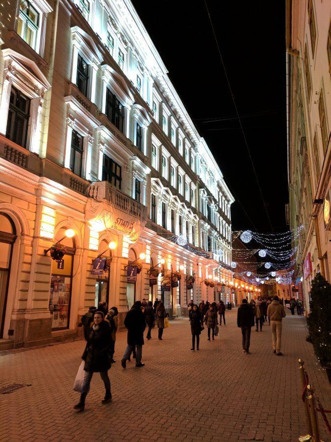 Romania Timisoara Street