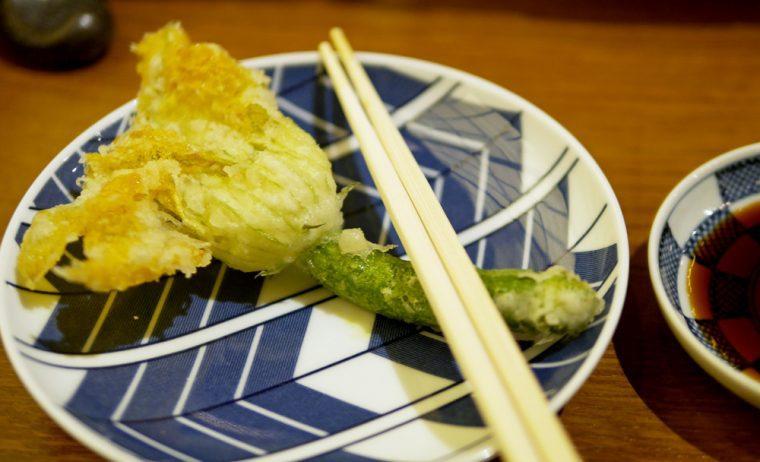Sakagura - Tempura Courgette Flower