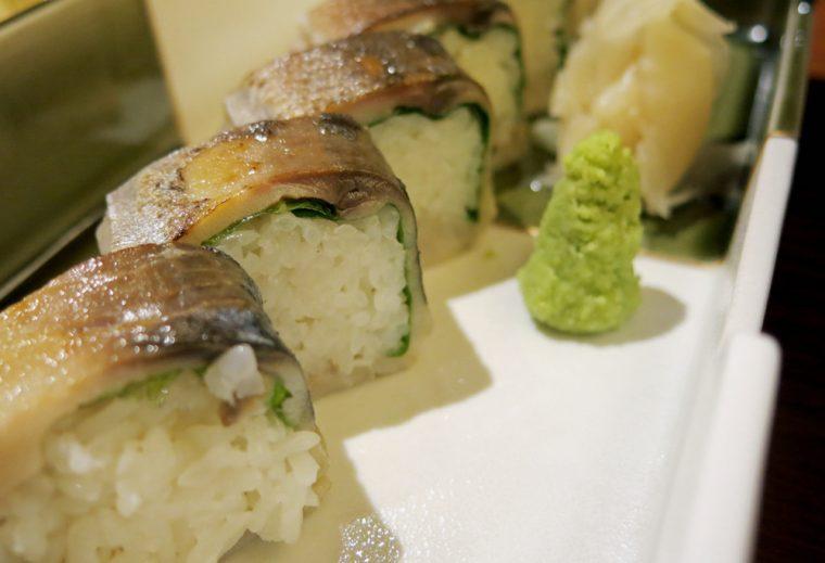 Sakagura - aburi shime saba bo sushi