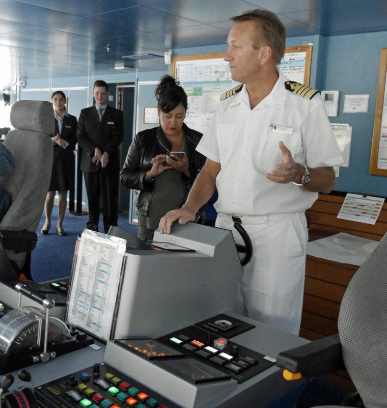 Seabourn Odyssey Captain