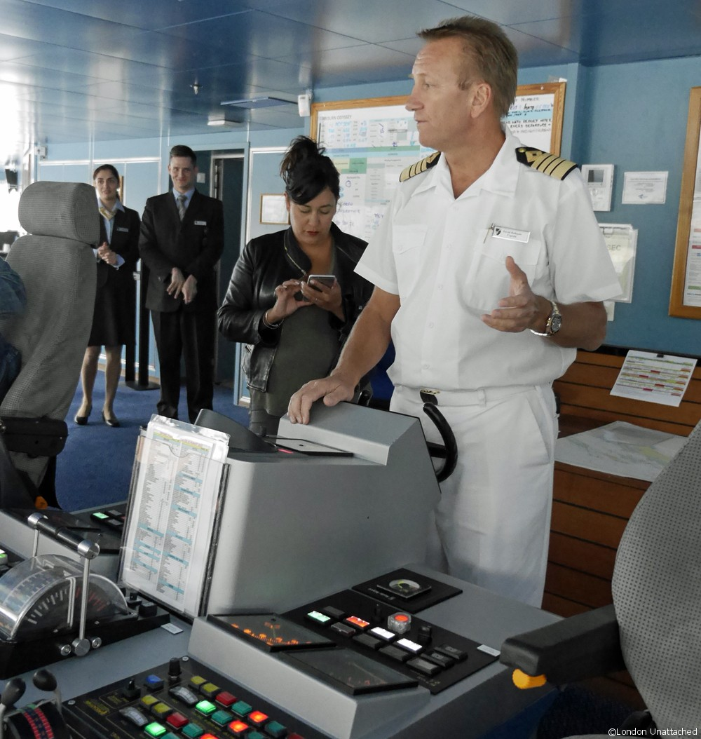 Seabourn Odyssey Captain
