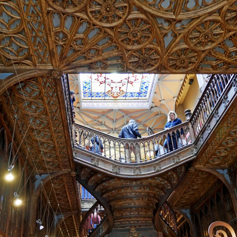 Bookshop Lello in Porto Interior