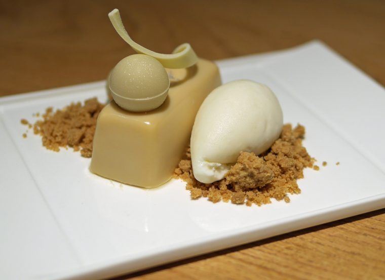 Eneko at One Aldwych Salted Caramel Mousse