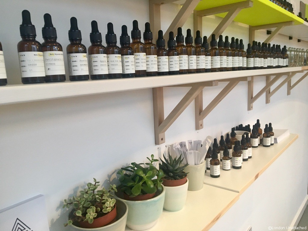 Essential Oils at the Experimental Perfume Club Workshop