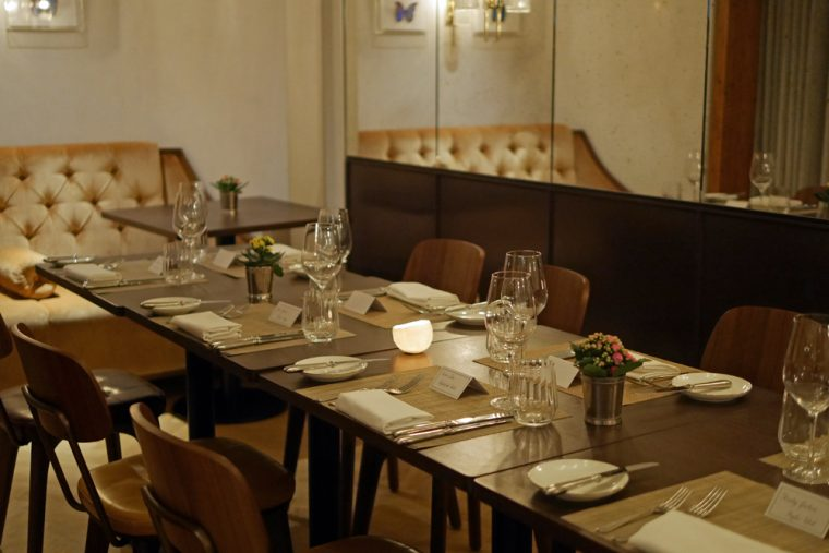 Galvin at the Athenaeum - private room