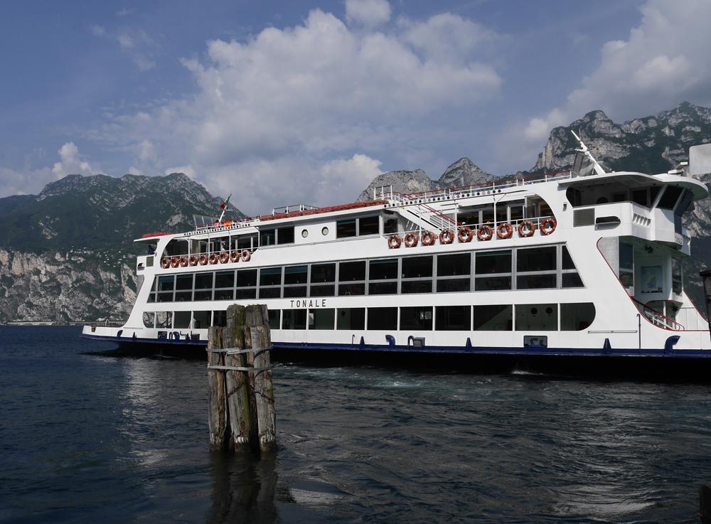 Garda Trentino Ferry at Torbole