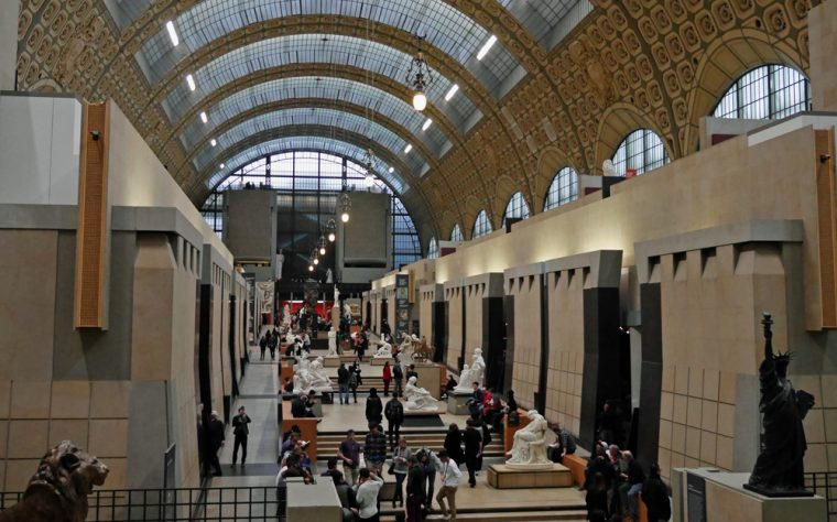 Musee D'Orsay - STatue Hall - Paris